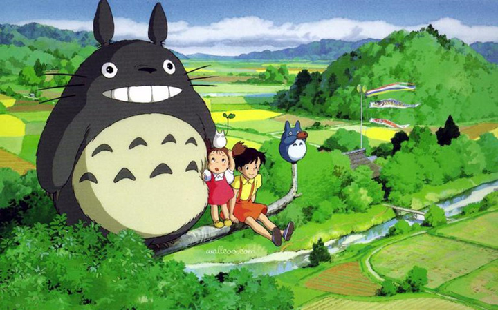 In Chinese, Totoro is called dragon cat. Or is it Chinchilla?