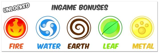 In-game bonuses on Ninchanese