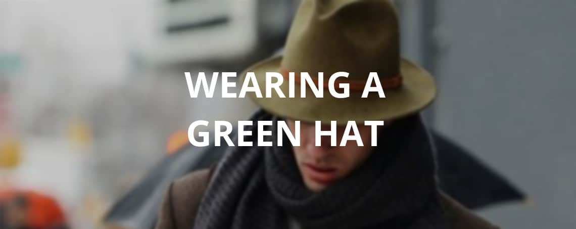 wearing a green hat - chinese customs and beliefs