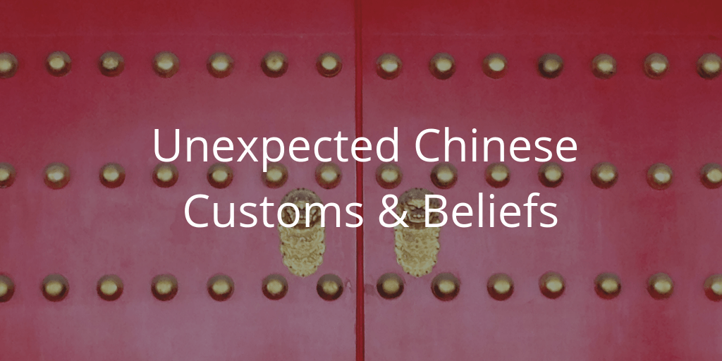 Chinese customs and beliefs
