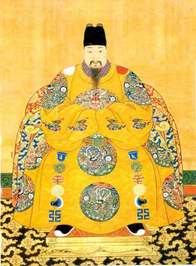 Emperor Xizong Zhu Youxiao (1605-1627) of the Ming Dynasty
