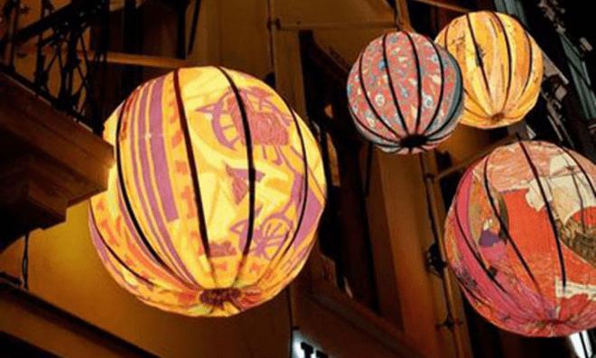 Chinese lantern : The shadow paper lanterns