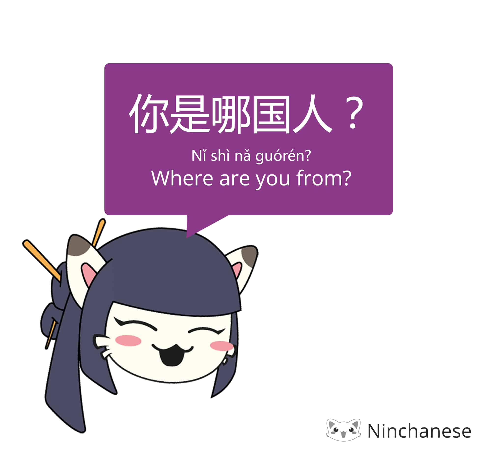 where are you from in Chinese - 你是哪国人
