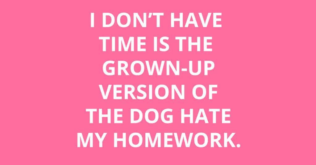 dog hate my homework