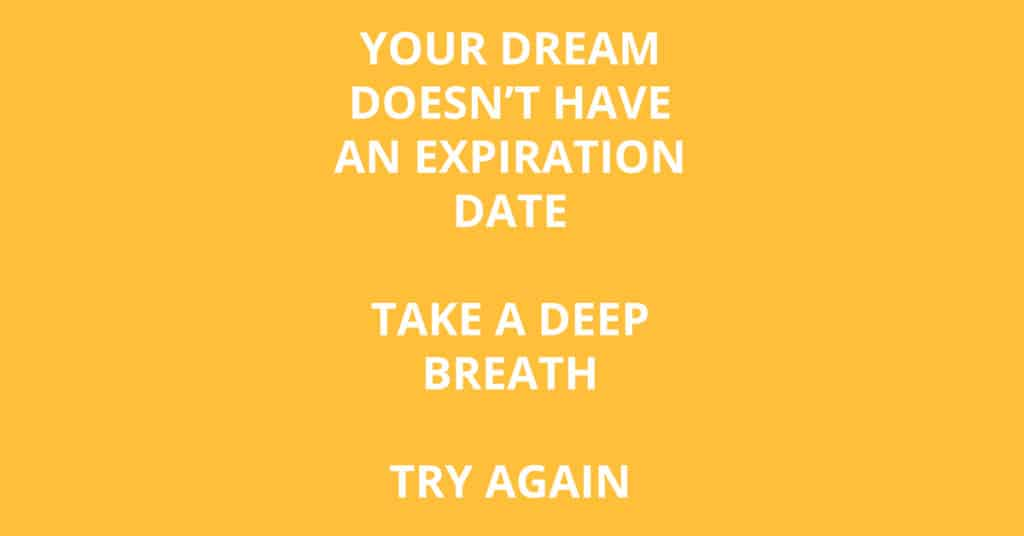 dream expiration date no